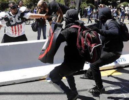 Media conceal Antifa's violent thuggery