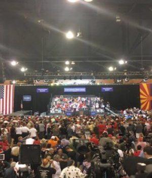 Trump Rally: Fake News, Sheriff Joe and Certain Senators