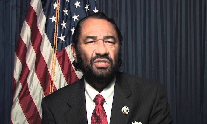 Democrat Al Green vows to force Trump impeachment vote in House