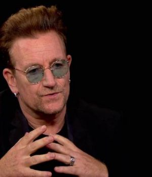 Bono: Trump election disturbed 'moral arc of the universe'