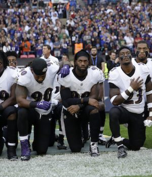 Ravens fans take issue with new NFL national anthem policy