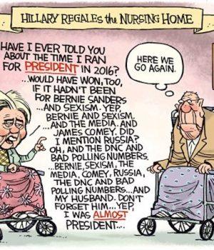 Hillary Still Blaming