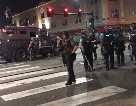 St. Louis suffers 3rd night of riots