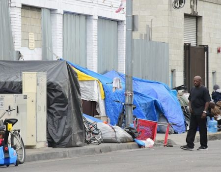 9 charged with paying homeless on LA's Skid Row in voter fraud case