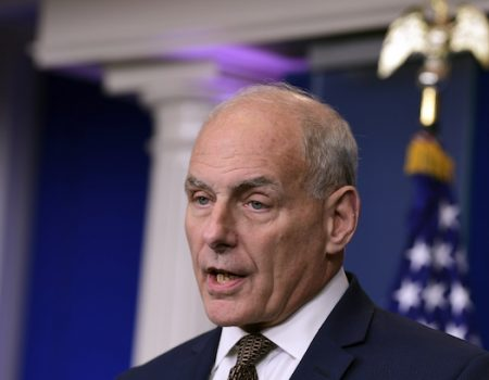 John Kelly schools the White House press