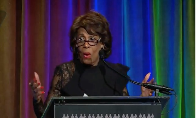 Maxine Waters advances an organized liberal strategy with her call for mob action