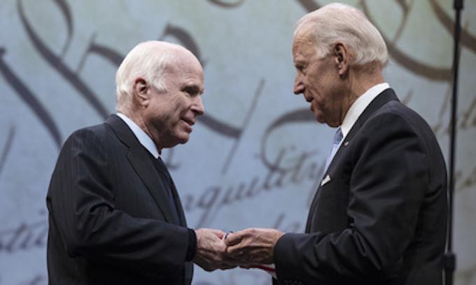 McCain defends globalism, warns of 'half-baked spurious nationalism'