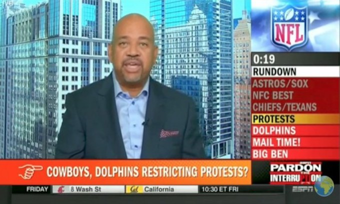 Another ESPN idiot compares Jerry Jones to slaveowner