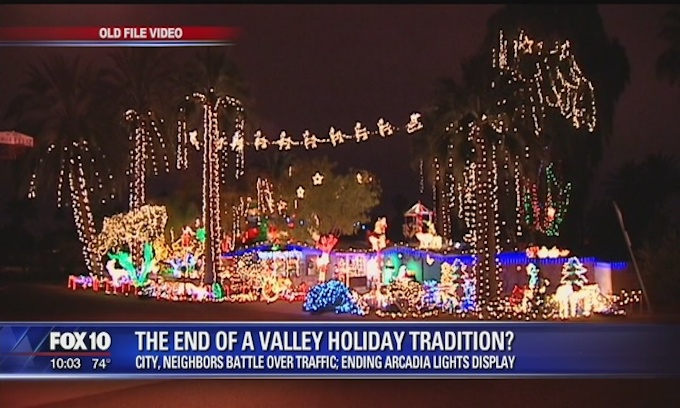 Famous Christmas Display Attacked by Government Grinch