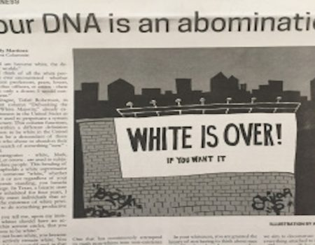 Student Newspaper Runs Anti-White Op-Ed; University President Calls It 'Racist'
