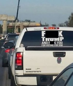 Miguel Fonseca, 'F— TRUMP' truck owner, arrested in Texas