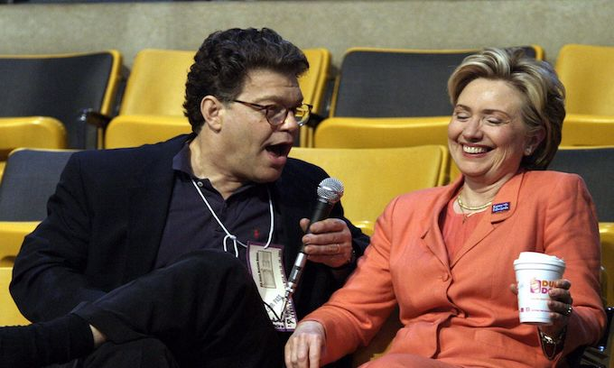 Hillary comes to defense of 'accountable' Al Franken