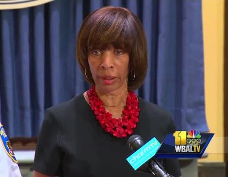 Baltimore Mayor Pugh says crime 'out of control'