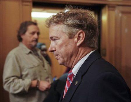 Sen. Rand Paul returns to work despite broken ribs
