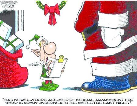 Santa Caught!