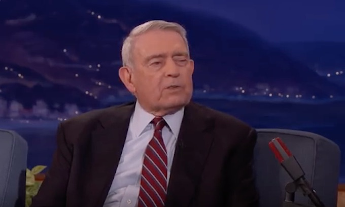Dan Rather, famous for fake news, rips Trump's 'unrelenting' attacks on media bias