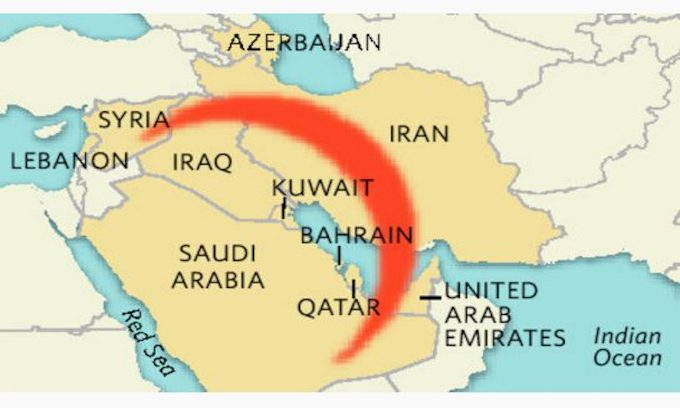Iran's 'Shiite Crescent' across Middle East nearly built