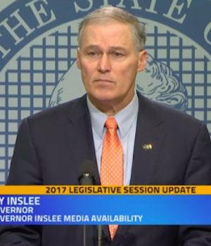 Jay Inslee: Democrats' midterms mission is to 'rescue America' from 'unhinged narcissist' Trump