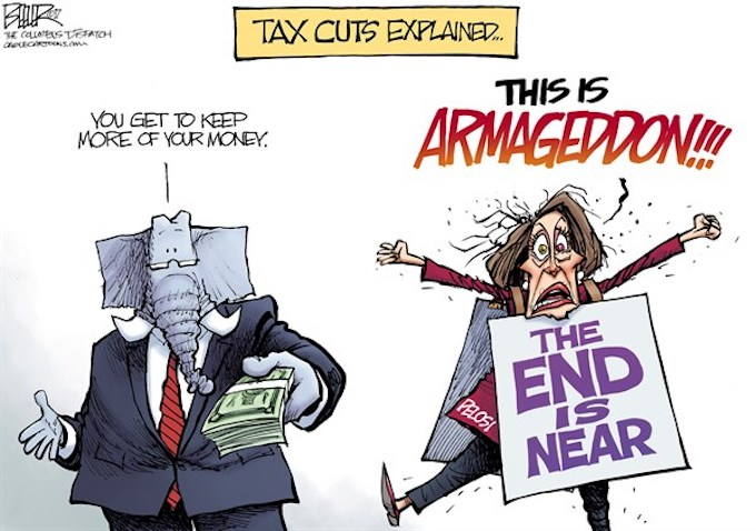 Tax Cuts Explained two ways