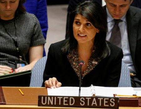 Nikki Haley Resigns as UN ambassador