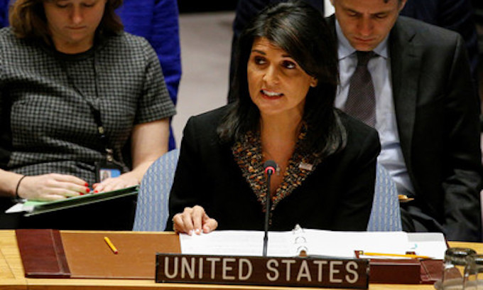 As promised, U.S. cuts funds for UN after 'null and void' vote