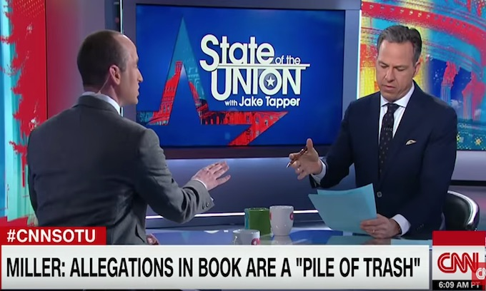WH adviser takes it to CNN's Jake Tapper; gets kicked off show