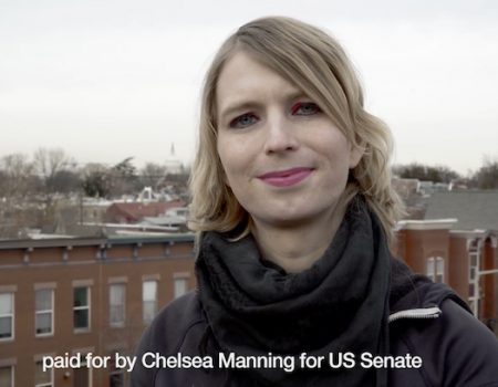 Chelsea Manning takes on Ben Cardin