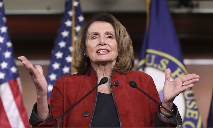 Nancy Pelosi: '5 White Guys' on immigration and employer bonuses just 'Crumbs, So Pathetic'