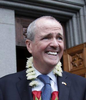 Democrat sworn in to replace Christie