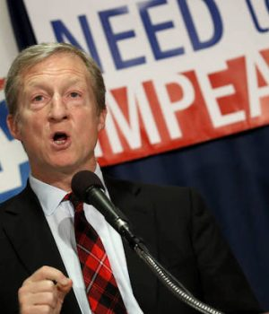 When you're as rich as Tom Steyer you don't have to be smart