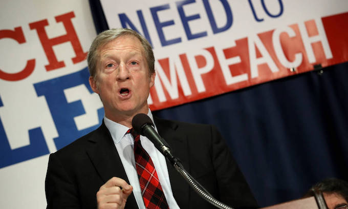 Steyer to spend $30 million on flipping the House
