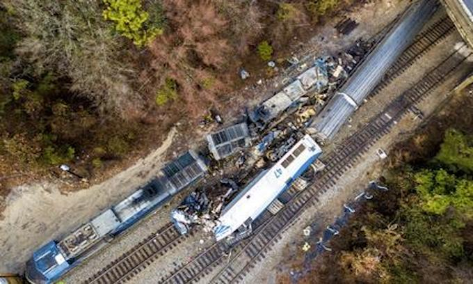 2 dead, 116 injured in 3rd deadly Amtrak crash in less than 2 months