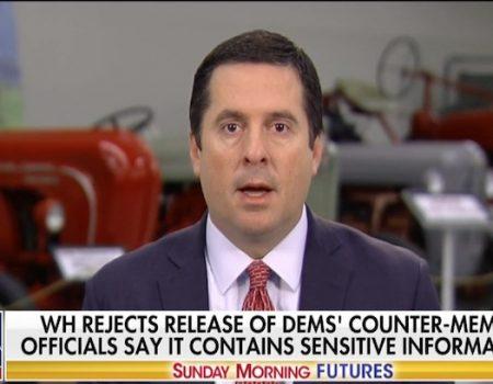 Devin Nunes wants Democrats' 'ridiculous' memo released