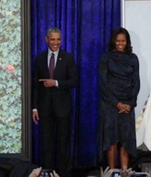 Barack Obama's portrait artist, painted black women beheading white women