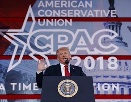 CPAC: Trump points to McCain for health care failure