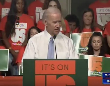Joe Biden tells students he wants to 'beat the hell out of Donald Trump' — Trump responds