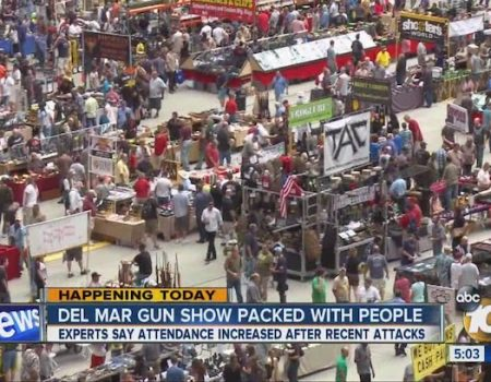 Last gun show at fairgrounds is this weekend; operator intends to sue state