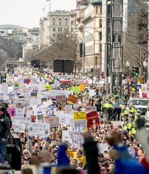 Teens just 10% of DC anti-gun rally