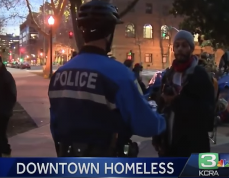 How long will Sacramento let homeless people use the city like a toilet?