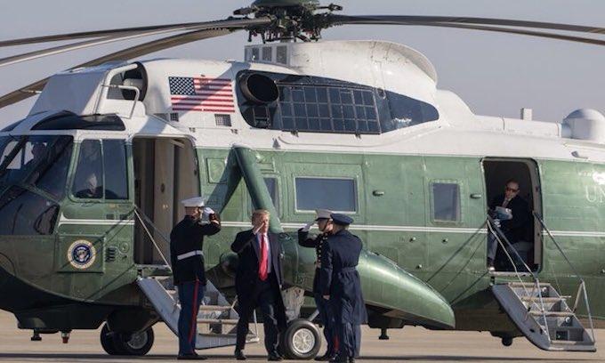 Trump visiting California today