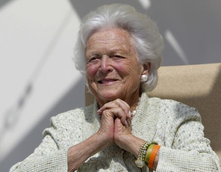 Trump will not attend Barbara Bush funeral out of respect for family