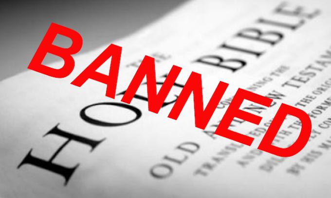 California pro-homosexual bill will ban the Bible