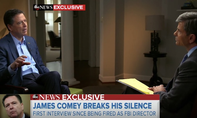 Comey's big interview a collection of gossip and smears