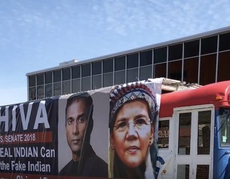 Cambridge rescinds order to remove anti-Warren 'fake Indian' campaign signs