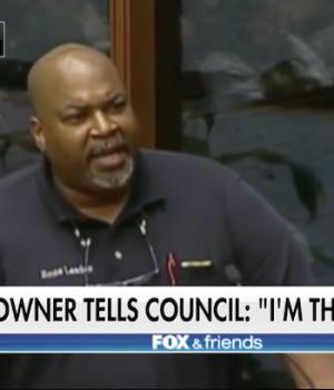 Gun supporter unloads on city council: I am the majority