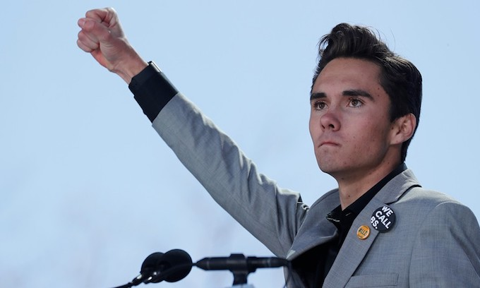 Seriously? David Hogg tells MSNBC we shouldn't go after evil people.