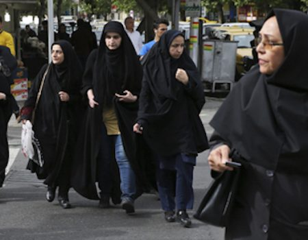 Iranian morality police savagely beat woman over loose hijab