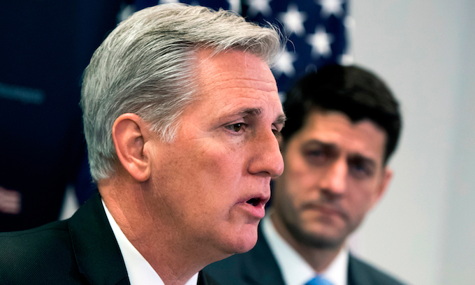 Paul Ryan endorses Kevin McCarthy as next speaker