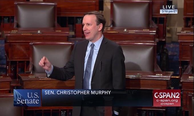 Democrat Chris Murphy, a Walking Billboard Against Freedom of Speech