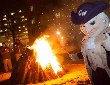 George Washington University snowflakes rise up against 'Colonials' mascot